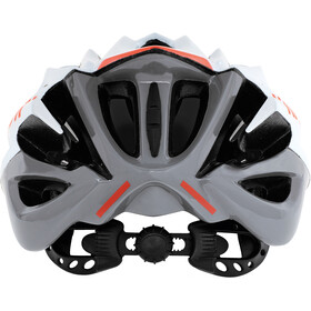 Kask Mojito X Fietshelm, white/orange